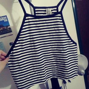 2/$15⭐ Striped (Crop) Cami/tank Top